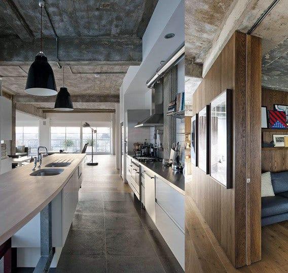 Industrial Interior Design Kitchen