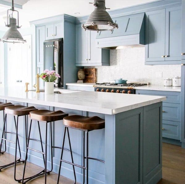 Industrial Large Pendants Kitchen Island Lighting Idea Inspiration