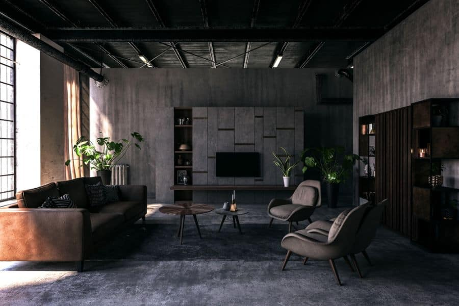 Industrial Living Room Decorating Ideas 2