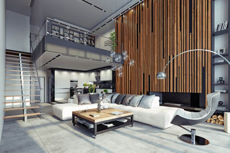 Industrial Living Room Decorating Ideas 7