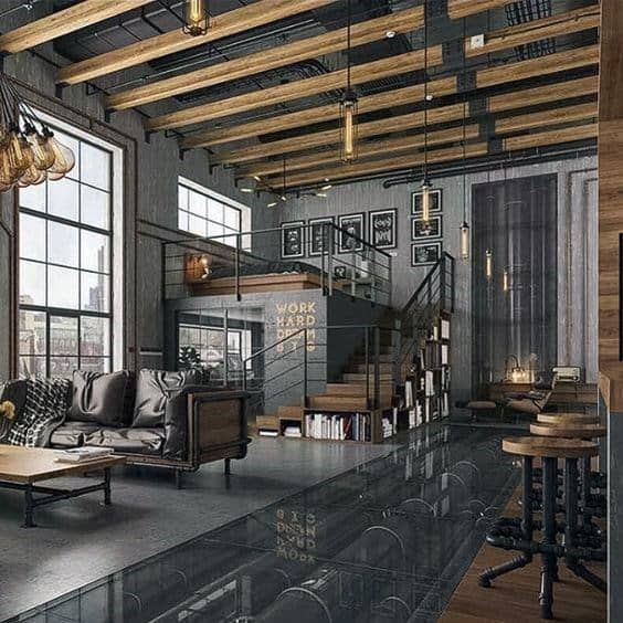 Industrial Loft Ideas