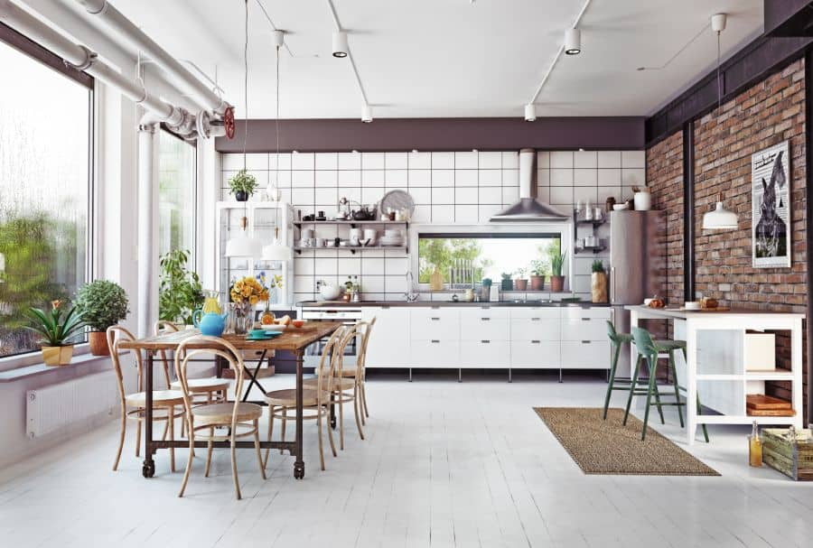 Industrial Open Kitchen Ideas