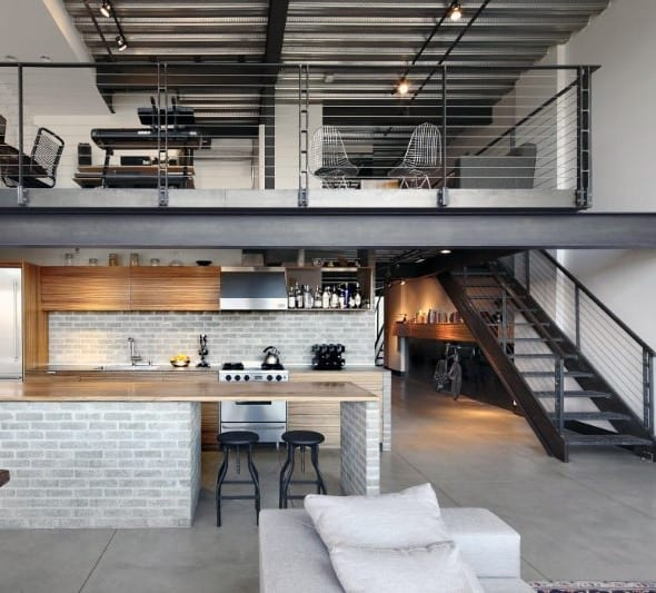 Industrial Style Interior Design & Top 50 Best Industrial Interior Design Ideas - Raw Decor Inspiration