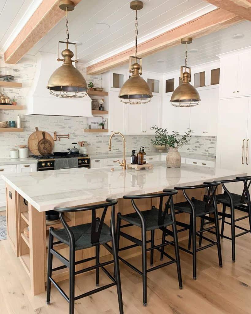 Industrial Touch Modern Farmhouse Kitchen Boulderparkfarmhouse