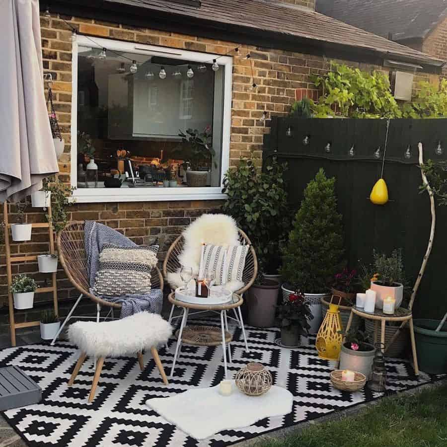 Inexpensive Small Patio Ideas Myslice Of Heaven
