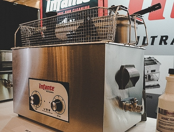 Infante Small Ultra Sonic Cleaner Shot Show 2019