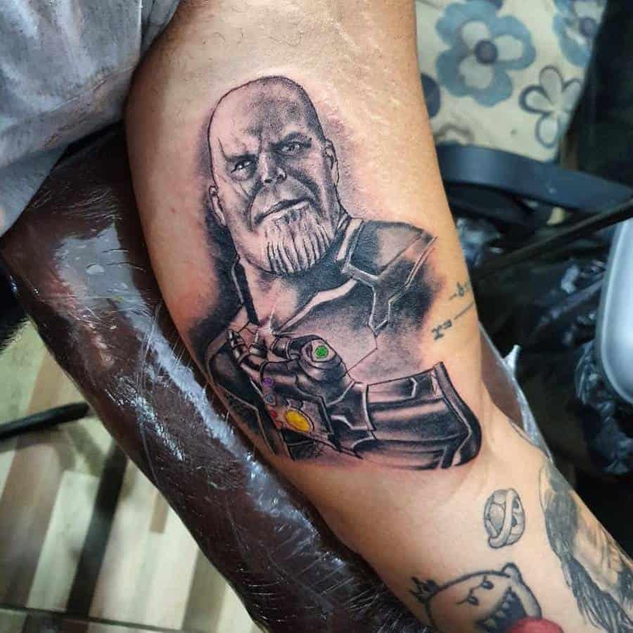 Infinity Gauntlet Thanos Tattoo Maurotattoo 182