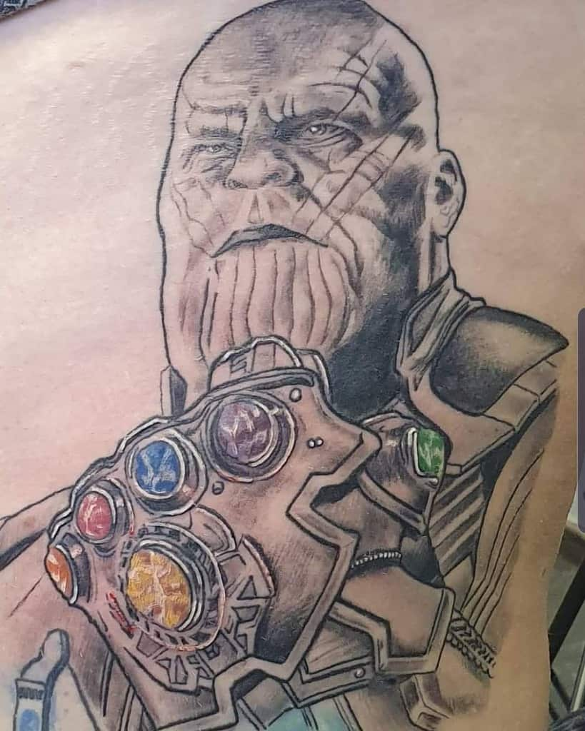 Infinity Gauntlet Thanos Tattoos Kayleighbamf