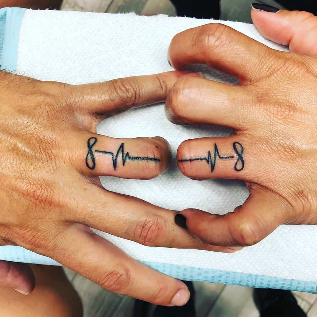 Infinity Wedding Ring Tattoo Krystalized114