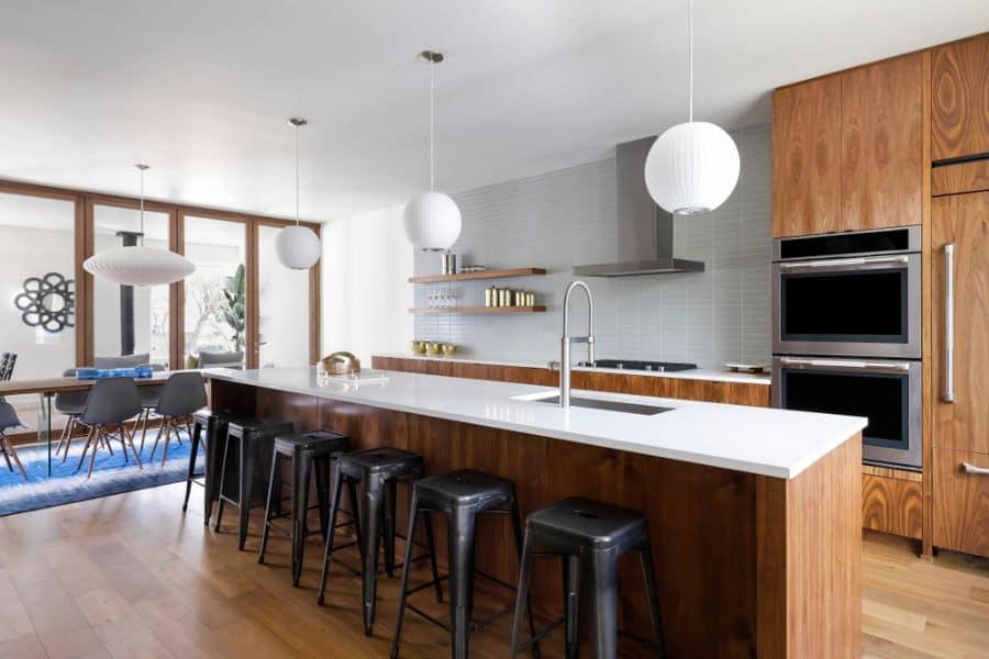 Initerior Mid Century Modern Inspired House