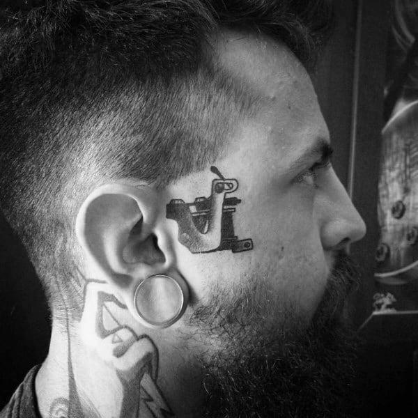 Ink Machine Guys Face Tattoo Designs