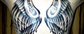 Top 91 Best Angel Wings Tattoo Ideas – [2020 Inspiration Guide]