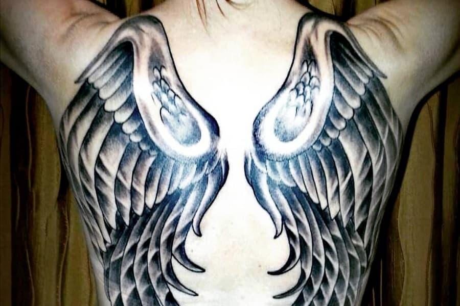 Top 90+ Best Angel Wings Tattoo Ideas – [2020 Inspiration Guide]