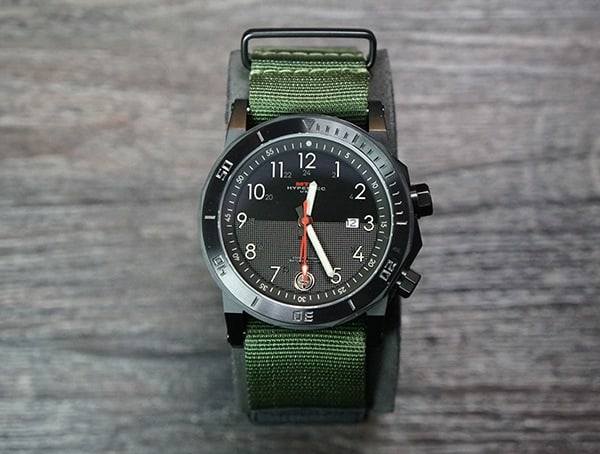 Inner And Outer Roating Bezels On Mtm Hypertec H 61 Watch