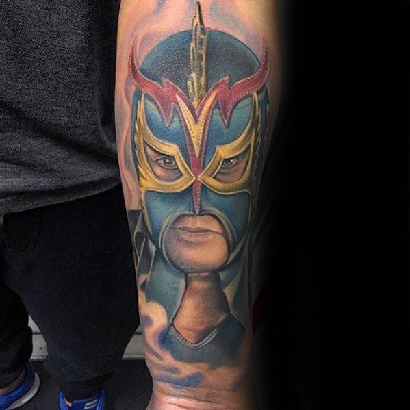 60 Wrestling Tattoos For Men – WWE Design Ideas