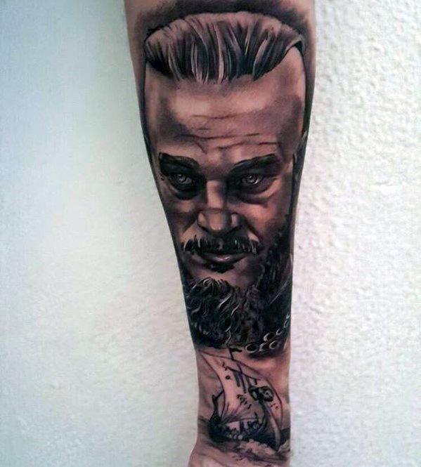 Inner Forearm Remarkable Ragnar Tattoos For Males