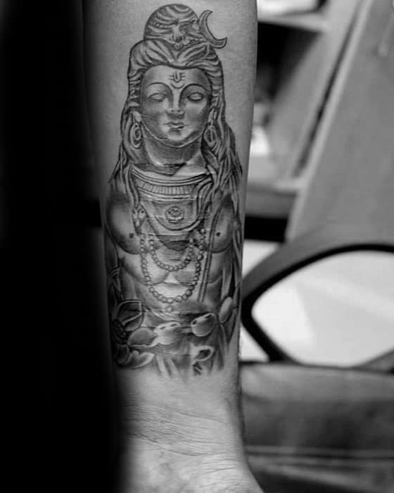 7b4a74e72 60 Shiva Tattoo Designs For Men - Hinduism Ink Ideas