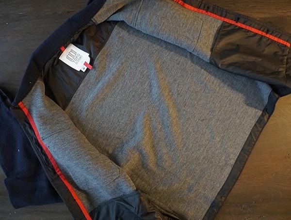 Inner Lining Mens Topo Designs Wool Shirt Gray And Navy