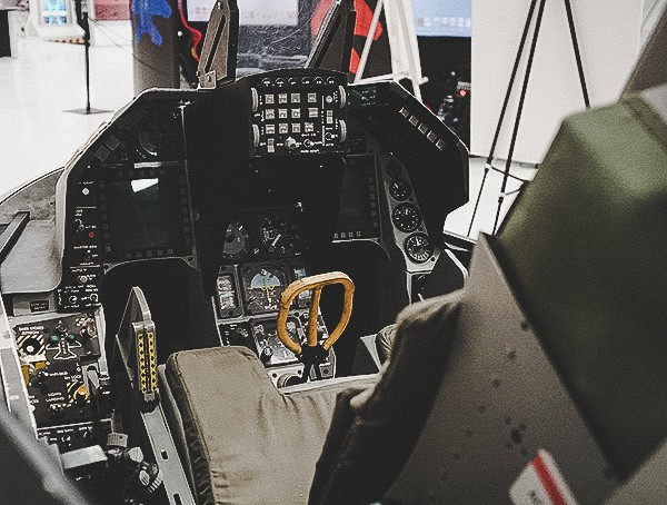 Inside Cockpit Of Fighter Jet