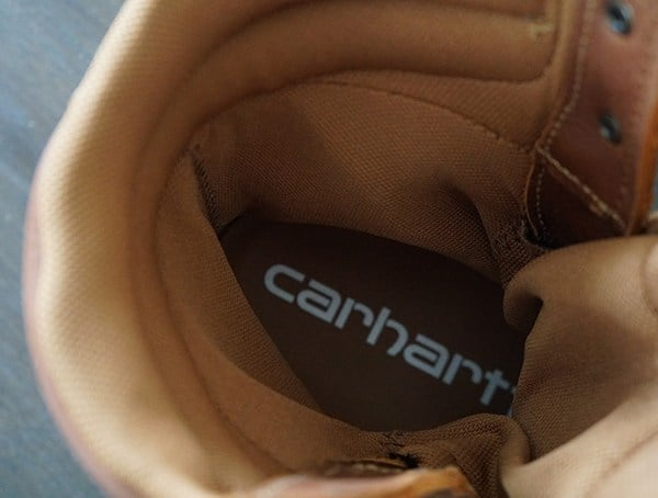 Insole Carhartt Made In The Usa 8 Inch Composite Toe Work Boots For Men