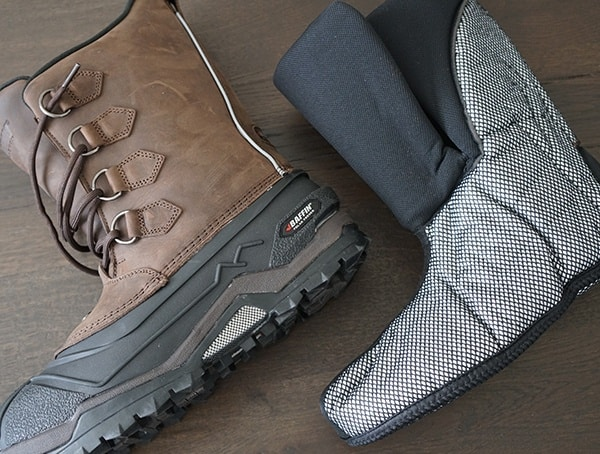 Insulated Extreme Cold Weather Winter Liner Baffin Control Max Boots For Men