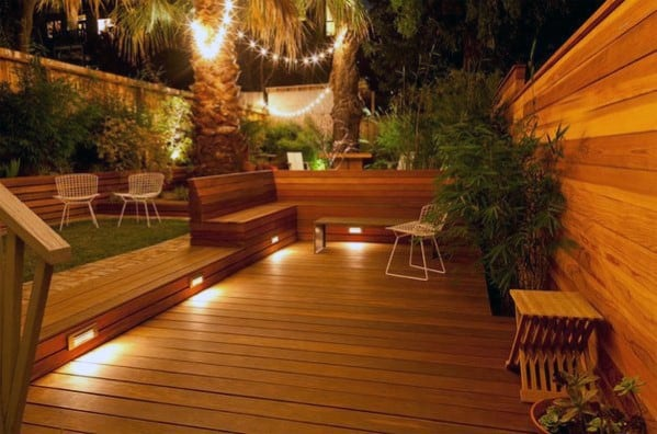 Integrated Step Deck Lighting Ideas