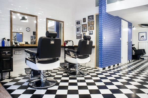 Interior Barber Shop Designs