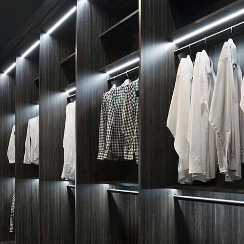 Interior Closet Lighting Design