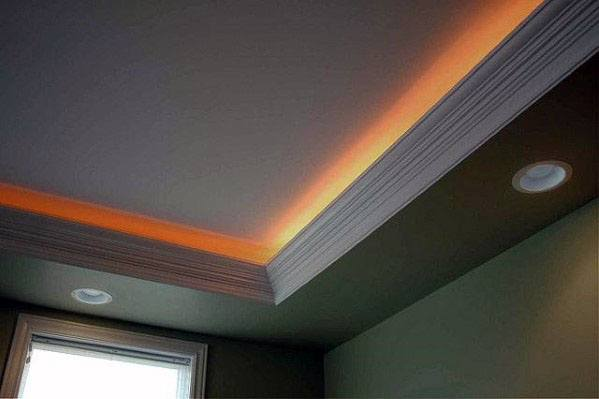 Interior Crown Molding Lighting Design
