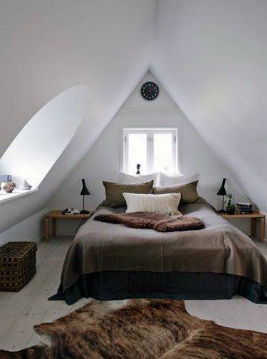 Interior Design Attic Bedroom Ideas