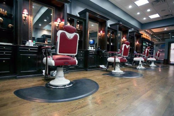 Interior Design Barber Shop
