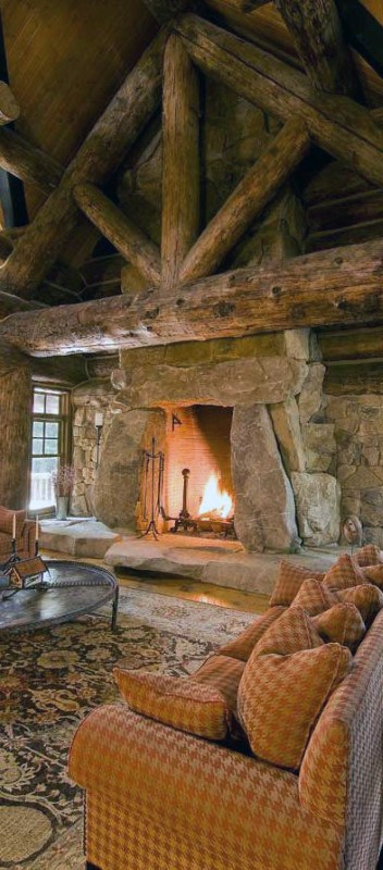 Interior Design For Log Cabins