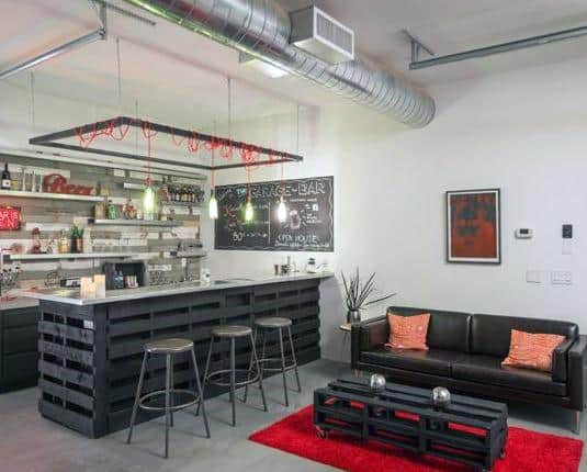 Interior Design Garage Bar Ideas