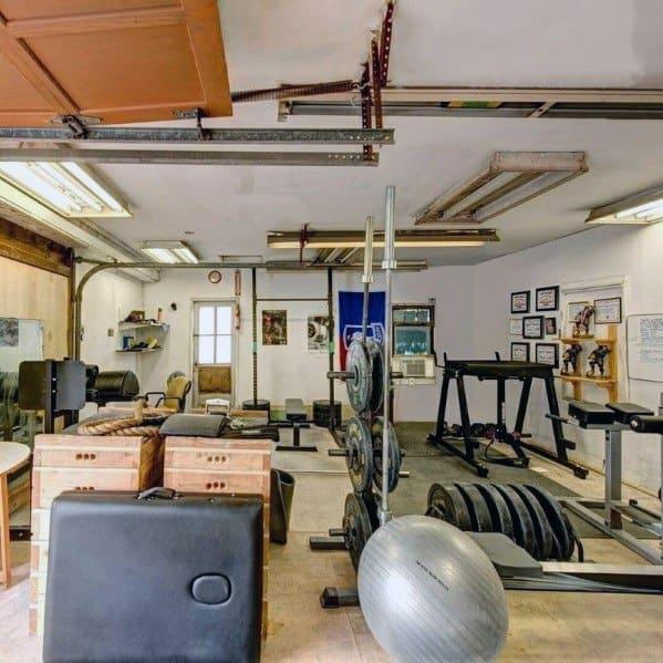 Interior Design Ideas For Garage Gyms