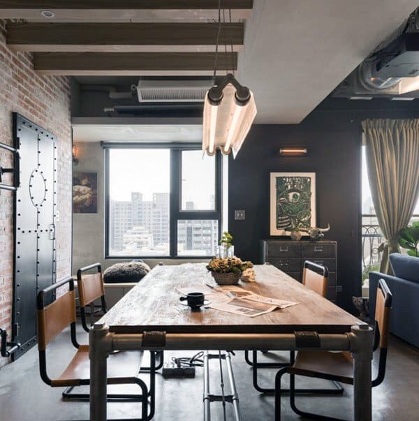 Interior Design Industrial Look