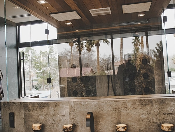 Interior Design Master Bath Shower Las Vegas Nevada 2019 New American Remodel