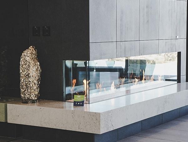 Interior Design Modern Glass New American Home 2019 Living Room