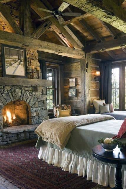 Interior Design Of Log Cabins