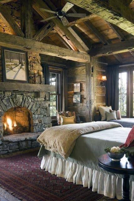 Interior Design Of Log Cabins