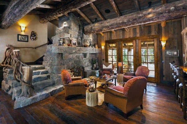 Interior Design Rustic Living Rooms