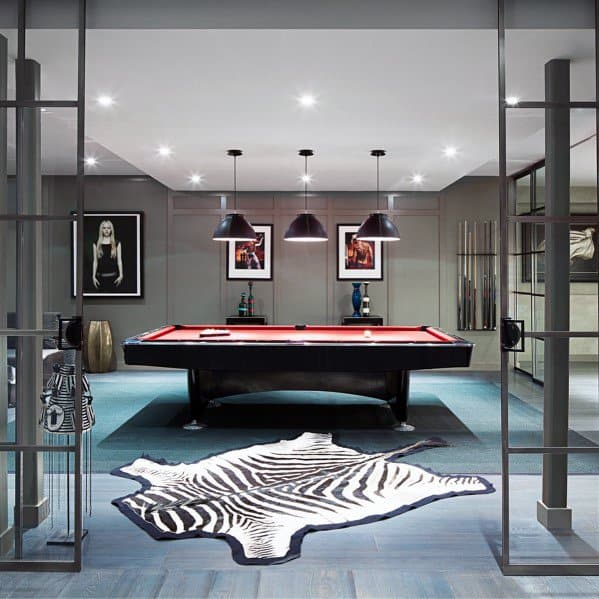 Interior Designs Billiards Room Ideas