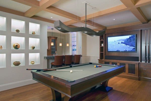 Interior Designs Billiards Rooms