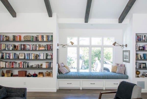 Interior Designs Built In Bookcase