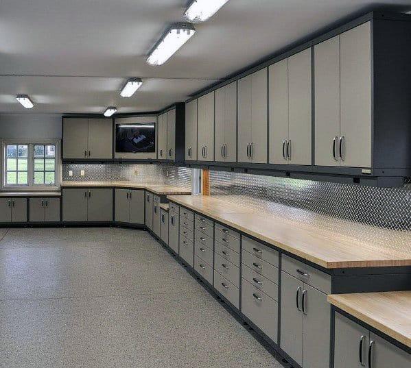 Top 70 Best Garage Cabinet Ideas