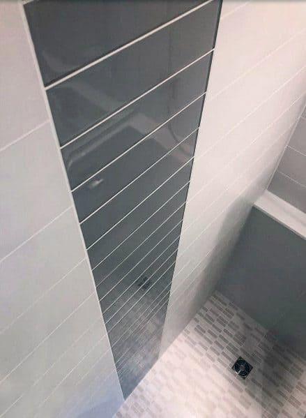 Interior Designs Grey Bathroom Tiles