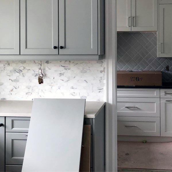 Interior Designs Grey Kitchens