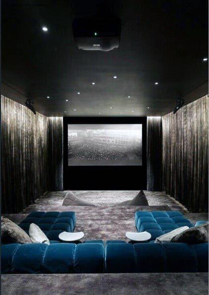 Interior Designs Home Theater Lighting
