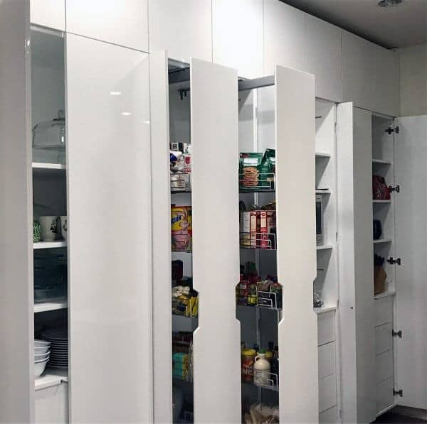 25 Great Pantry Design Ideas For Your Home: Top 70 Best Kitchen Pantry Ideas