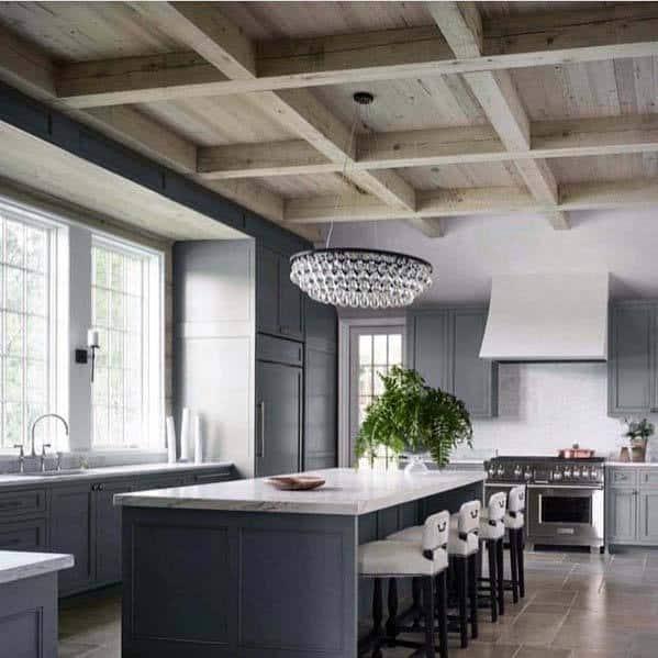 Interior Designs Kitchen Tile Floor
