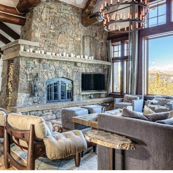 19 Log Cabin Home Décor Ideas: Top 60 Best Log Cabin Interior Design Ideas